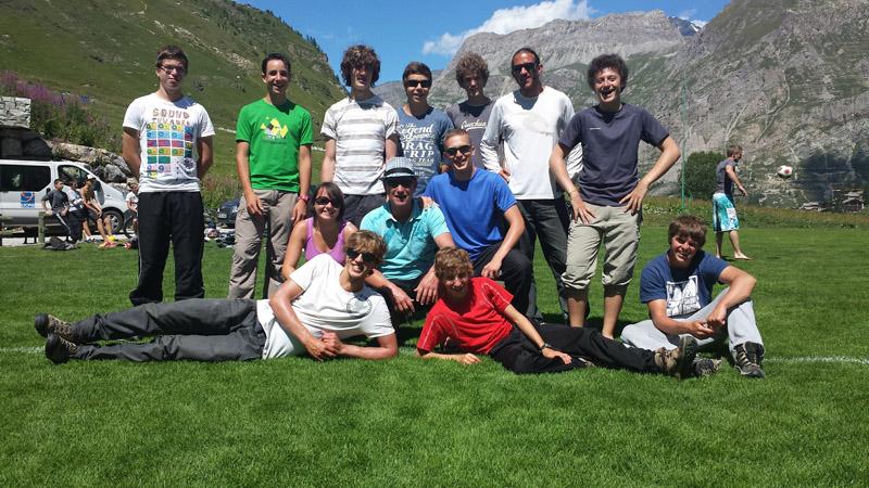 Baptême parapente Val d'Isère 1