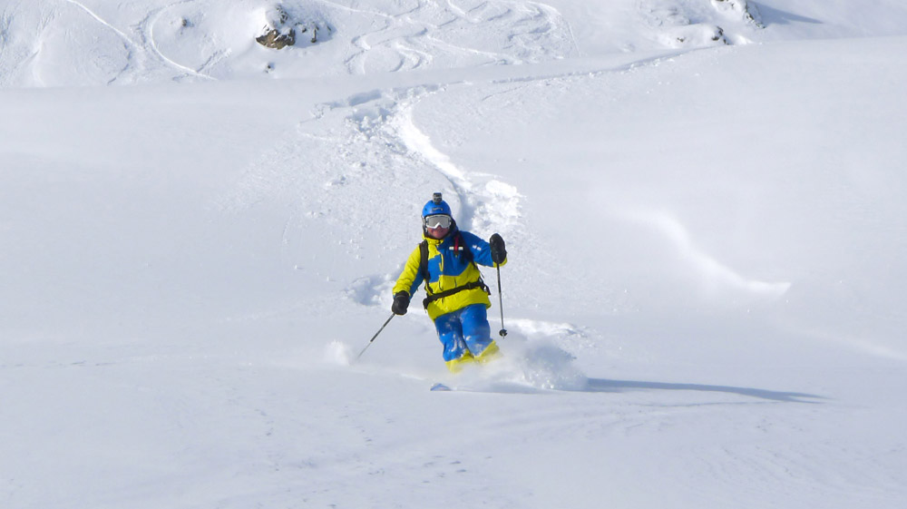 Start of 2011-2012 season in Val d'Isere 2