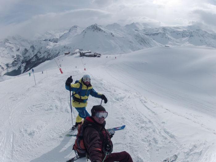 Off piste in Val d'Isère 3