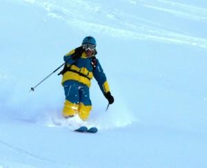 Hors piste à Val d'Isère 1