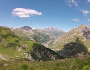 Trés,trés bonne conditions pour le parapente à Val d'Isére. 1