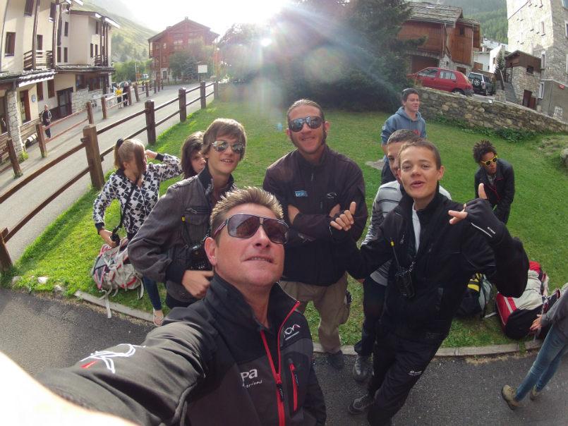 Superbes souvenirs dans les airs, à Val d'Isère. 5