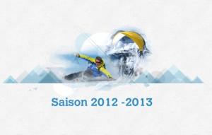 Ouverture de la saison ski, parapente et hors piste à Val d'Isère pour 2012 - 2013 1