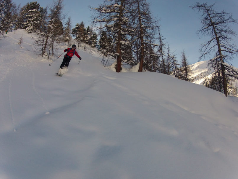Off piste and world cup in Val d'Isère. 2