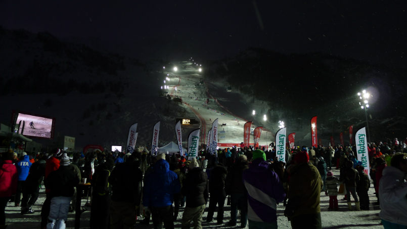 Off piste and world cup in Val d'Isère. 10
