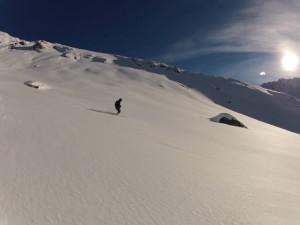Hors piste et coupe du monde à Val d'Isère. 1