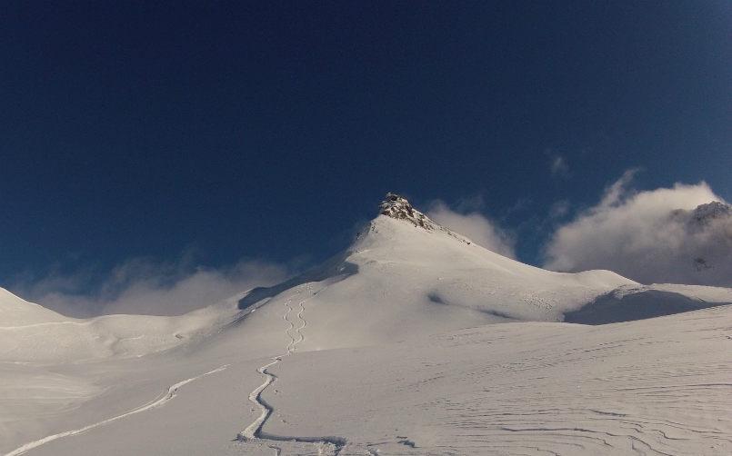 Beautiful memories off piste in Val d'Isère. 2