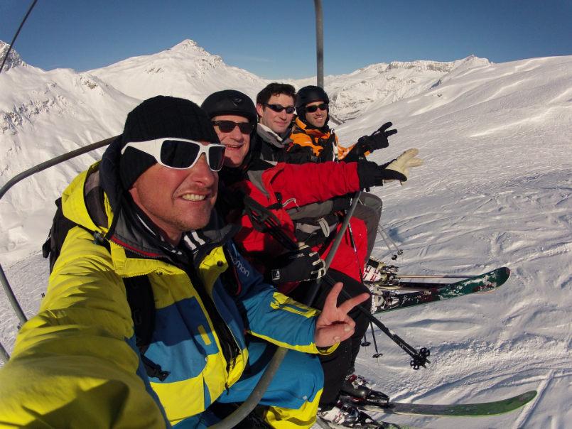 Beautiful memories off piste in Val d'Isère. 3