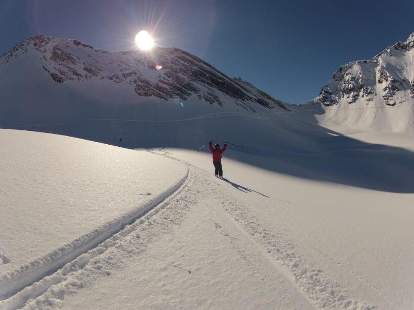 Beautiful memories off piste in Val d'Isère. 5