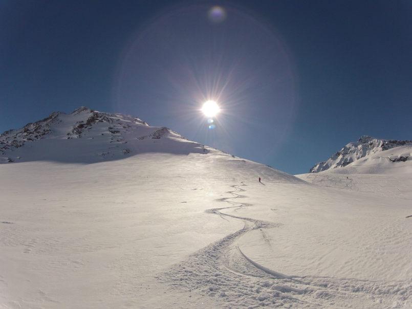 Beautiful memories off piste in Val d'Isère. 4