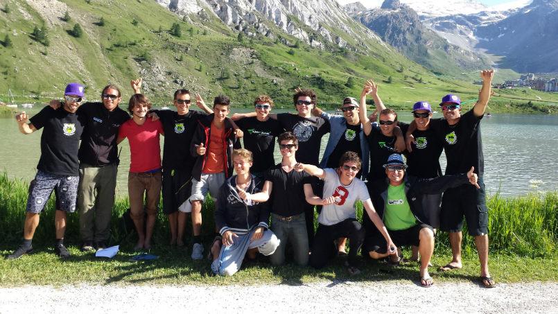 Stage parapente juniors UCPA de VAL D'ISERE 6
