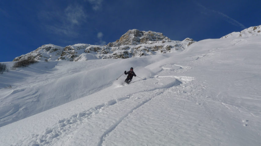 OFF PIST SKIING IN VAL D'ISERE 8