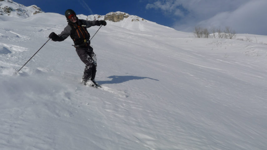 OFF PIST SKIING IN VAL D'ISERE 7