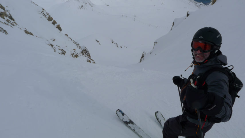 OFF PIST SKIING IN VAL D'ISERE 3