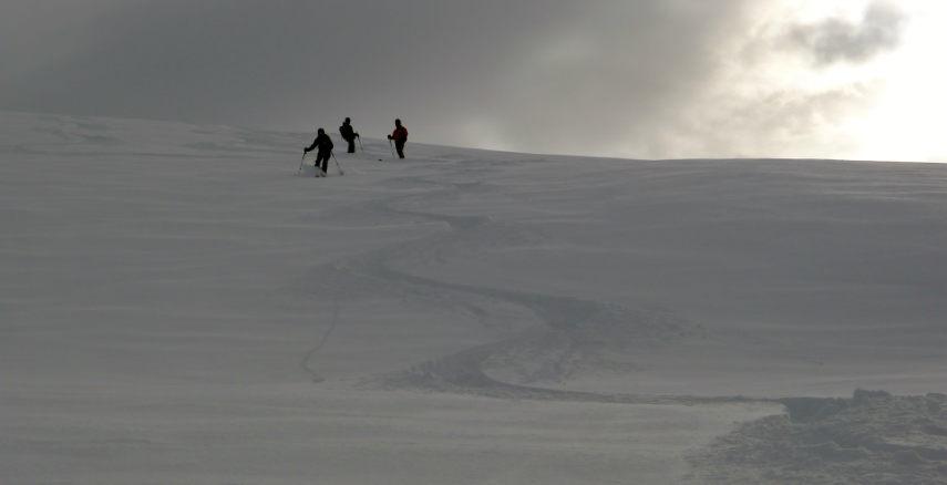 Neige Fraiche et ski Hors Piste à Val d'Isère. 2