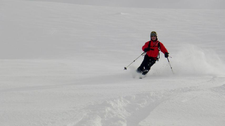 Neige Fraiche et ski Hors Piste à Val d'Isère. 3