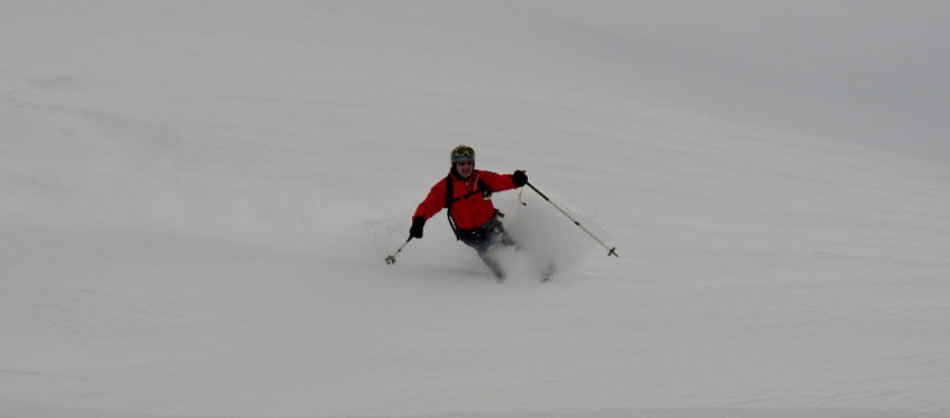 Powder snow and Off Piste skiing in Val d'Isère. 6