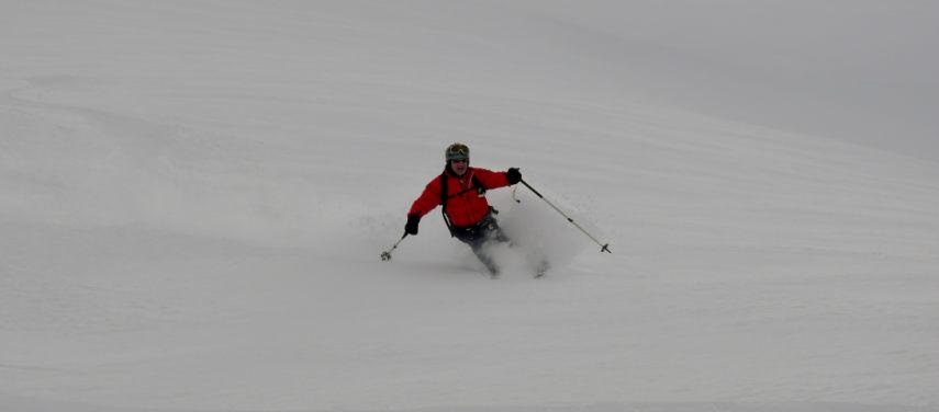 Neige Fraiche et ski Hors Piste à Val d'Isère. 6