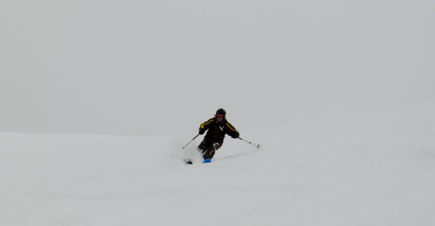 Neige Fraiche et ski Hors Piste à Val d'Isère. 7