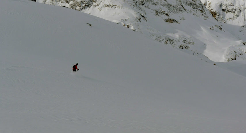 Powder snow and Off Piste skiing in Val d'Isère. 8