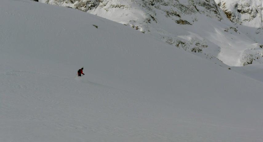 Neige Fraiche et ski Hors Piste à Val d'Isère. 8