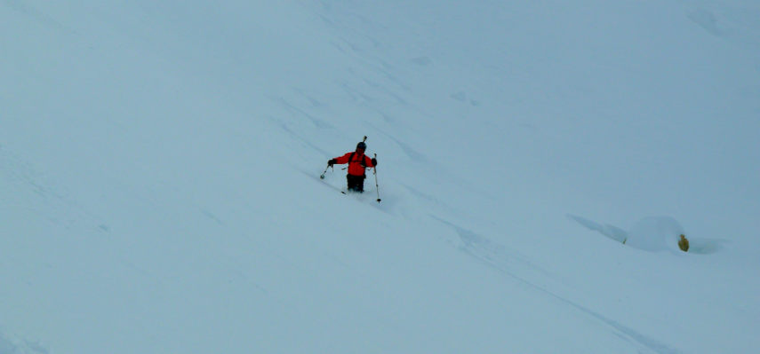 Powder snow and Off Piste skiing in Val d'Isère. 11