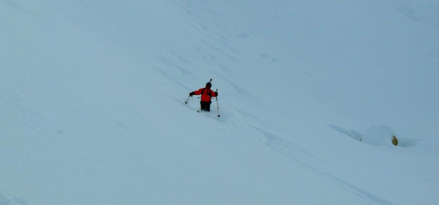 Neige Fraiche et ski Hors Piste à Val d'Isère. 11