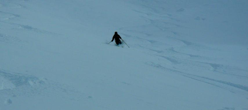 Neige Fraiche et ski Hors Piste à Val d'Isère. 10