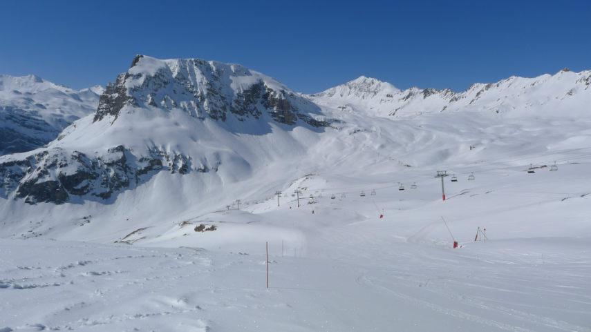 Fermeture station à Val d'Isère saison 2013-2014 2