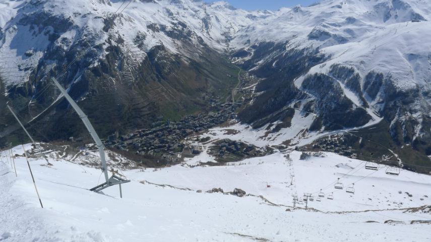 Fermeture station à Val d'Isère saison 2013-2014 4