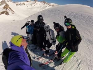 Dark Vador est à Val d'Isère. 1