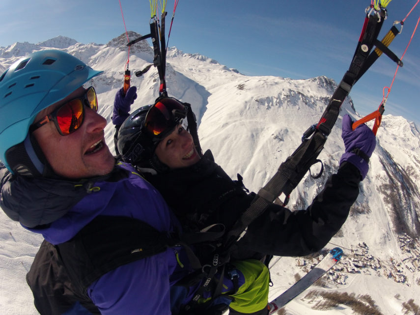Happy Holidays and sunshine in Val d 'Isère 2
