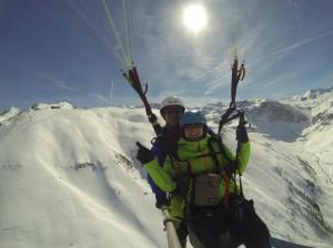 C'est le printemps à Val d'Isère. 1
