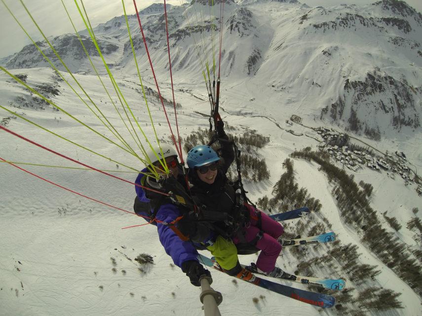 C'est le printemps à Val d'Isère. 11
