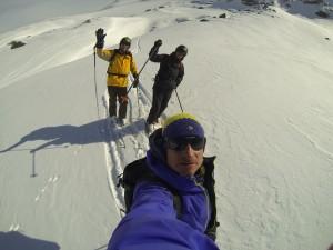 Fin de saison 2015 et poudreuse à Val d' Isère 1