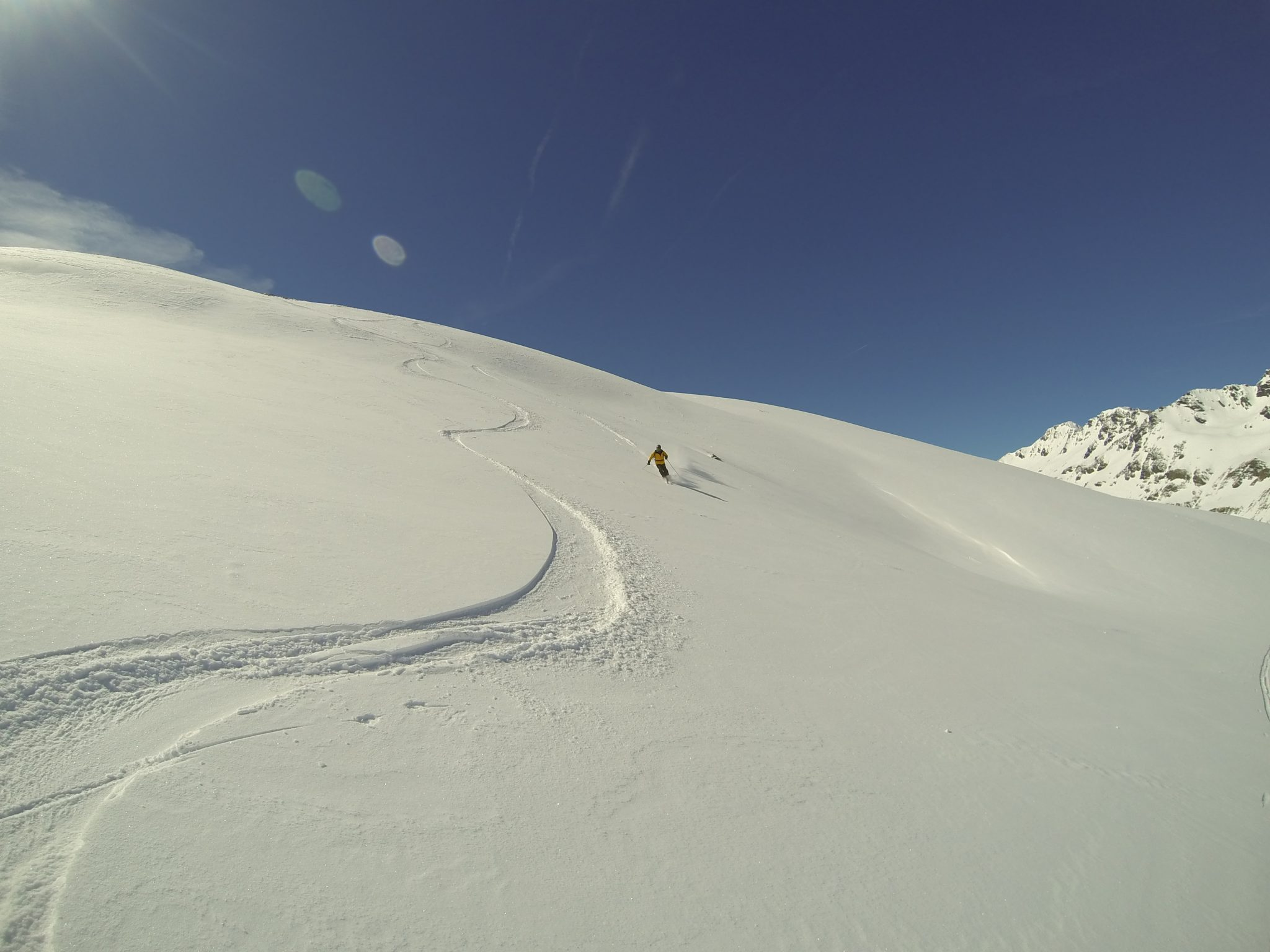 End of season 2015 and powdery in Val d'Isère 3