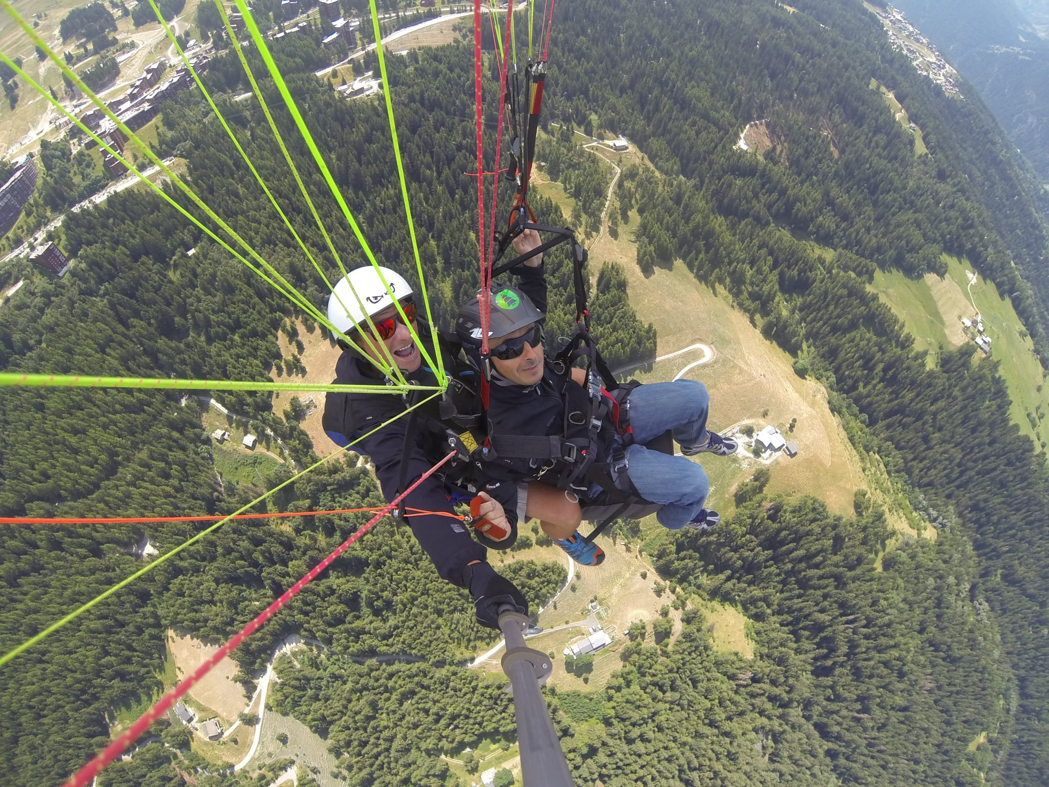 Unbelievable July month for paragliding. 9
