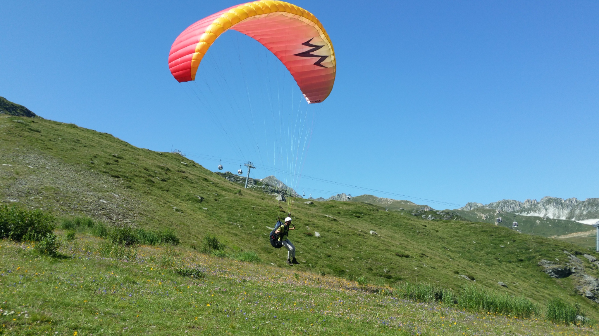 Unbelievable July month for paragliding. 10