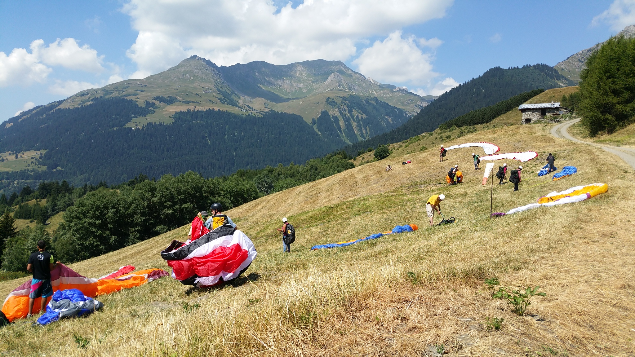 Unbelievable July month for paragliding. 11