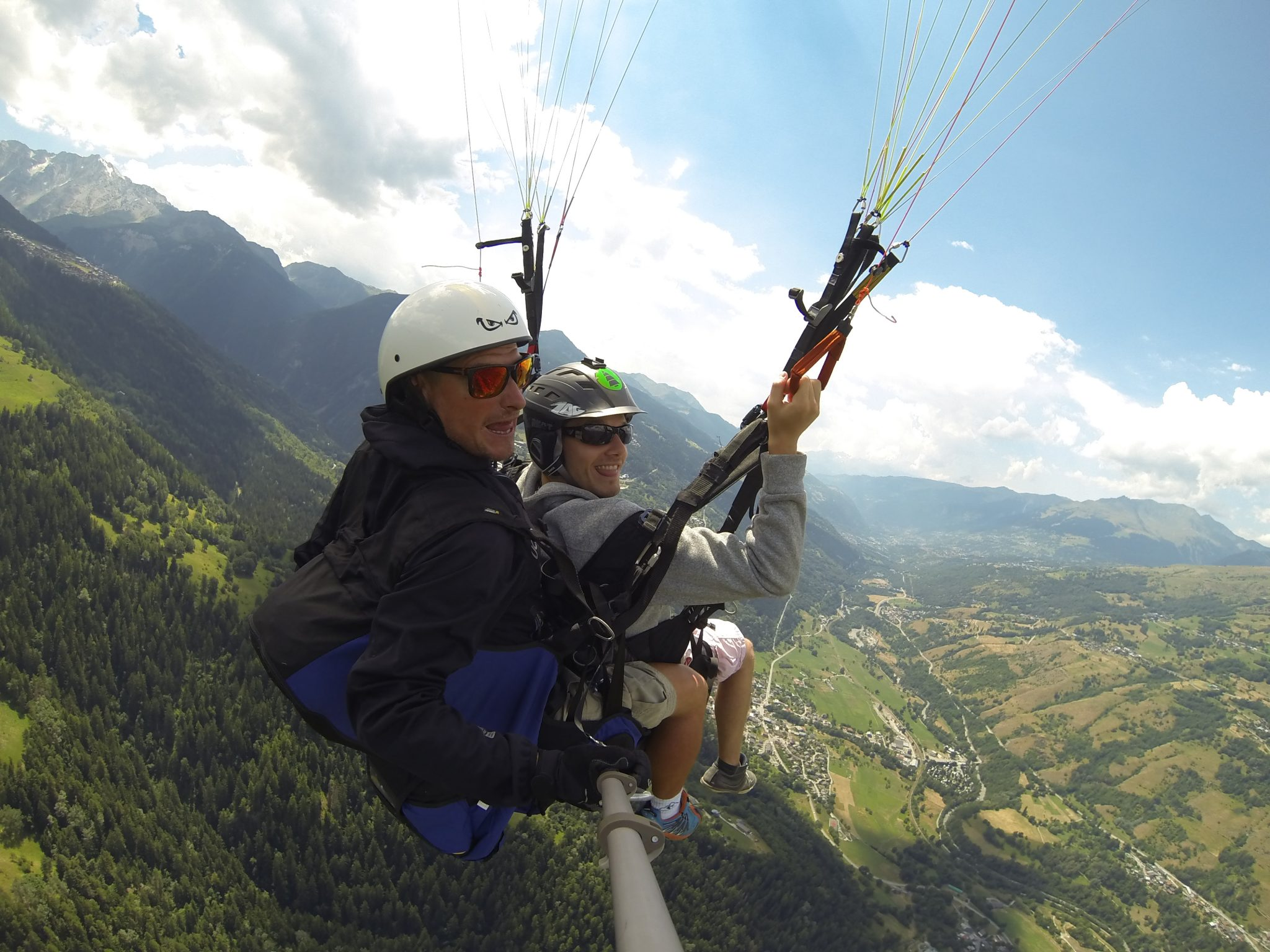 Unbelievable July month for paragliding. 12