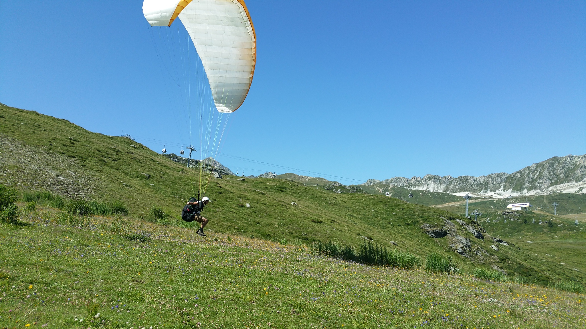 Unbelievable July month for paragliding. 4