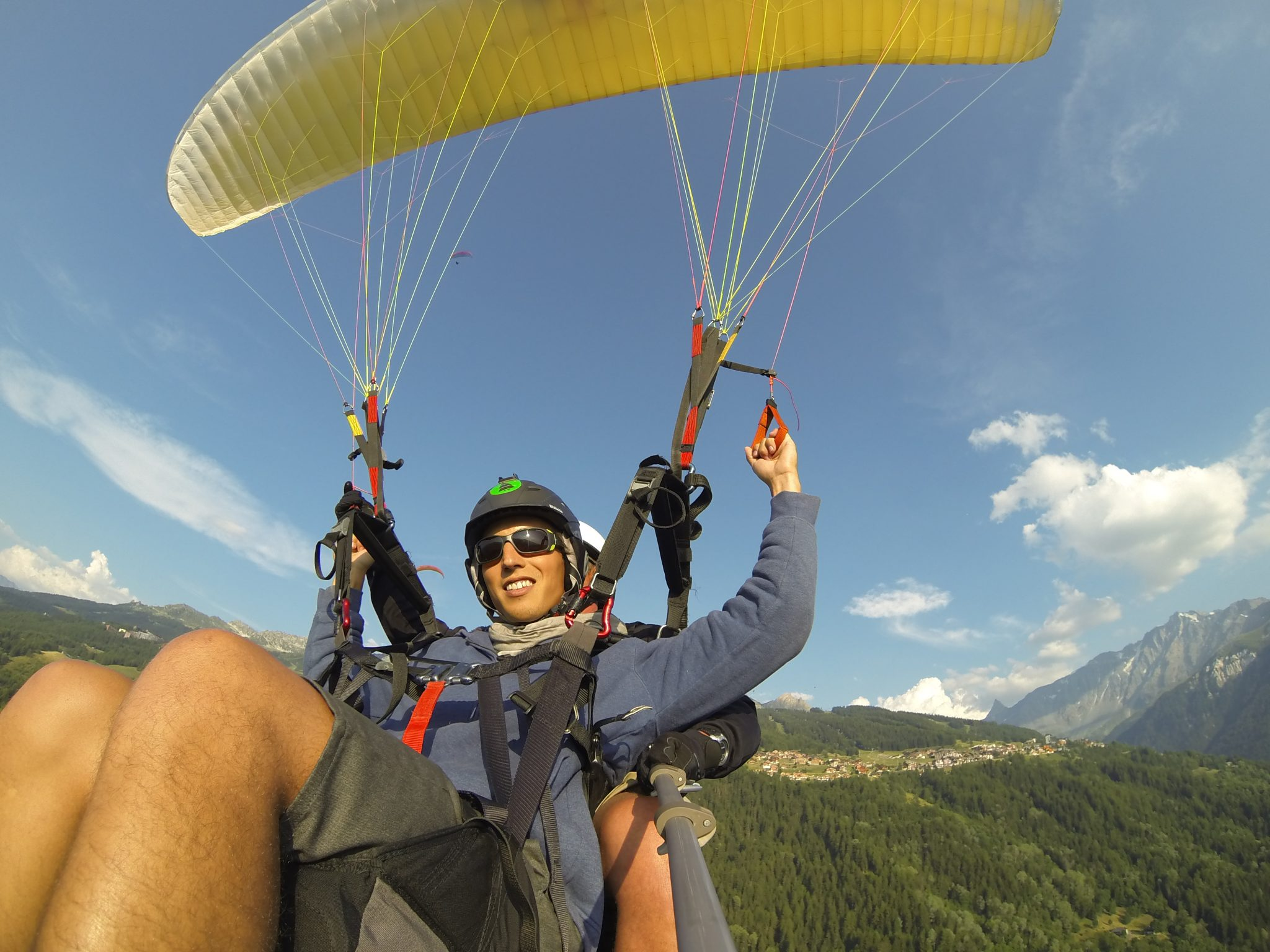 Unbelievable July month for paragliding. 8