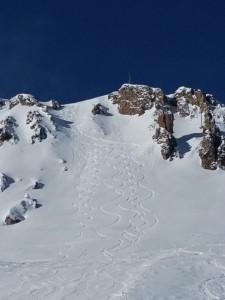 Belle neige,et beaux souvenirs à Val d'Isère. 1