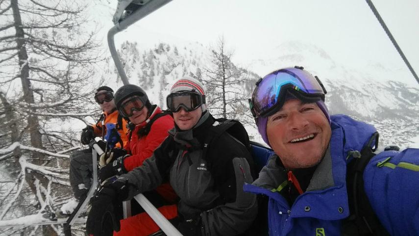 Belle neige,et beaux souvenirs à Val d'Isère. 3