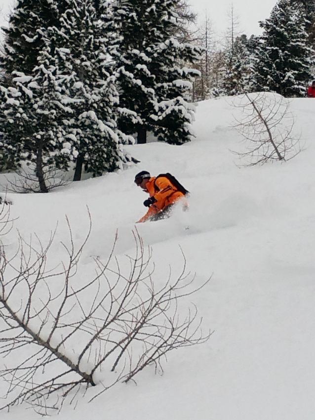 Belle neige,et beaux souvenirs à Val d'Isère. 5