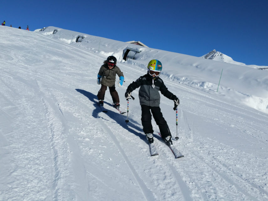 Belle neige,et beaux souvenirs à Val d'Isère. 6