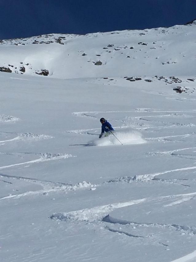 Belle neige,et beaux souvenirs à Val d'Isère. 7