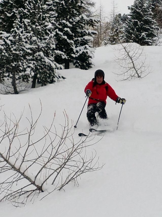 Belle neige,et beaux souvenirs à Val d'Isère. 9