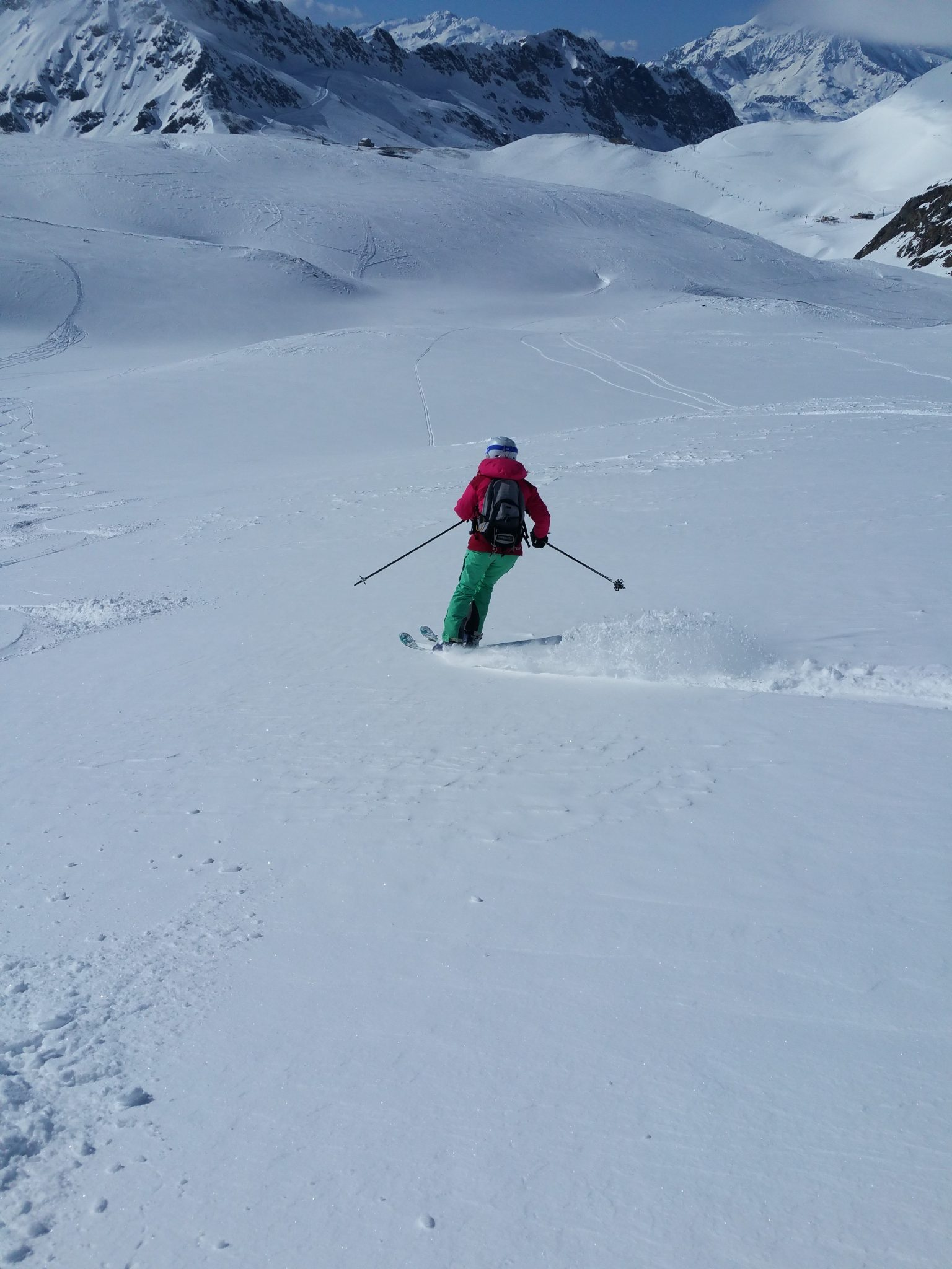 Fresh snow and Est return in Val d'Isère 11