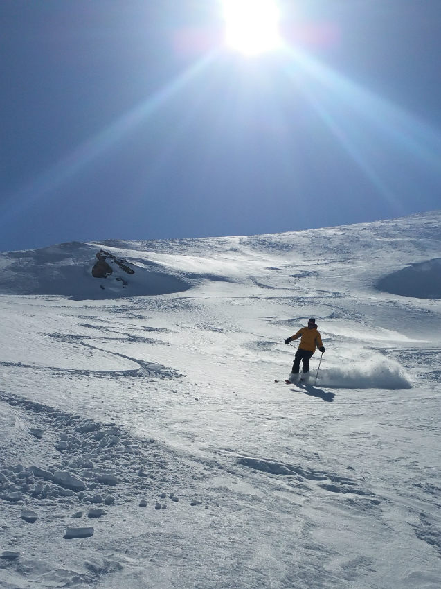 Fresh snow and Est return in Val d'Isère 2
